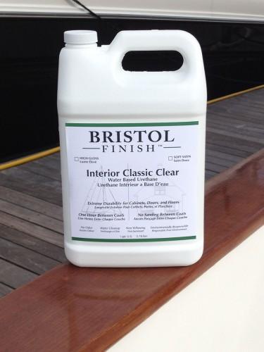 Bristol Finish Classic Clear Interior Water Based Urethane